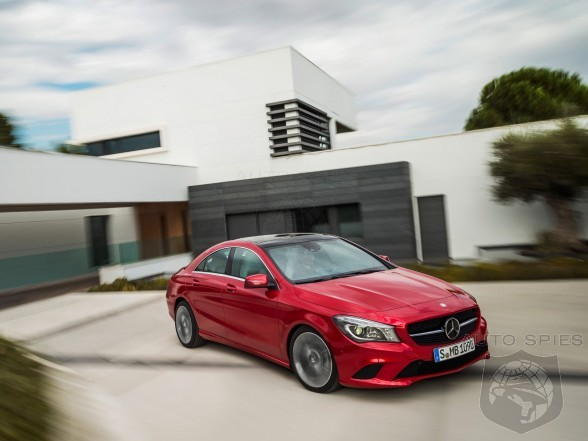 Mercedes Stumbles On To Cool - Average Age Of CLA Buyer Is Over A Decade Younger Than The Norm