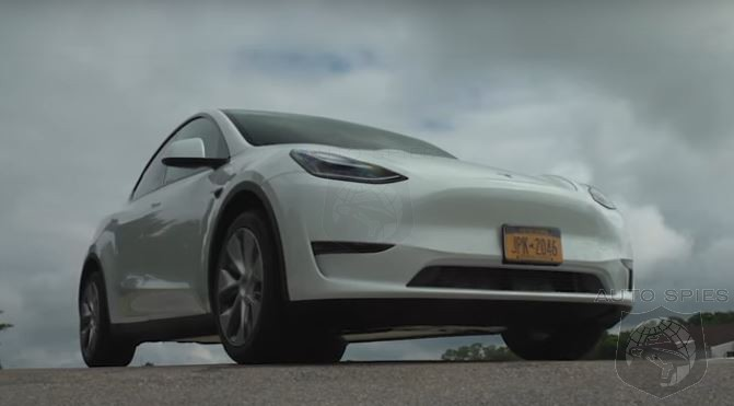 WATCH: Consumer Reports Goes COVID Crazy On Tesla's Model Y