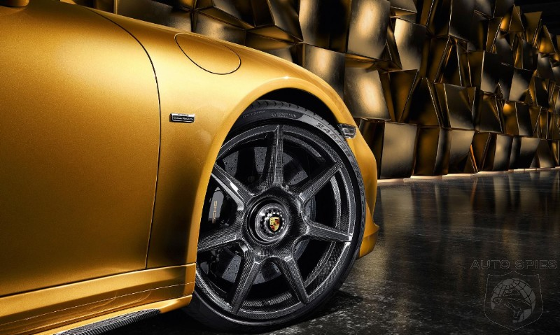 Porsche Announces Carbon Fiber Reinforced Wheel Option At Only $17,600