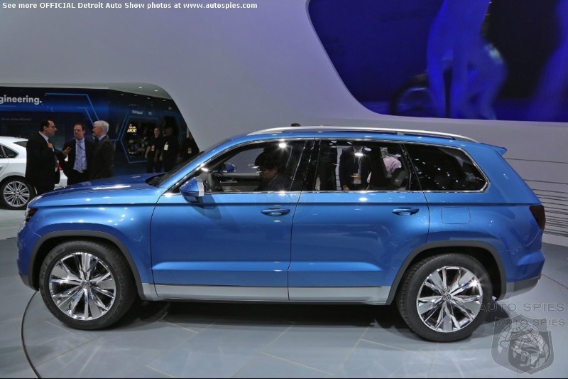 Volkswagen To Build 7 Seat SUV At Chattanooga Assembly Plant