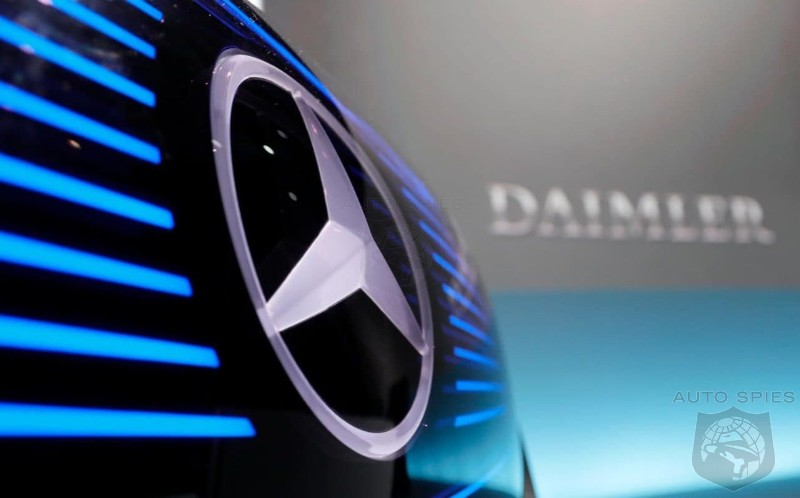 Chinese Set To Buy A 5% Stake In Daimler