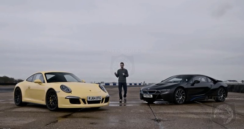 Evo Pits The Porsche 911 Against The Bmw I8 In An Unlikely Shootout
