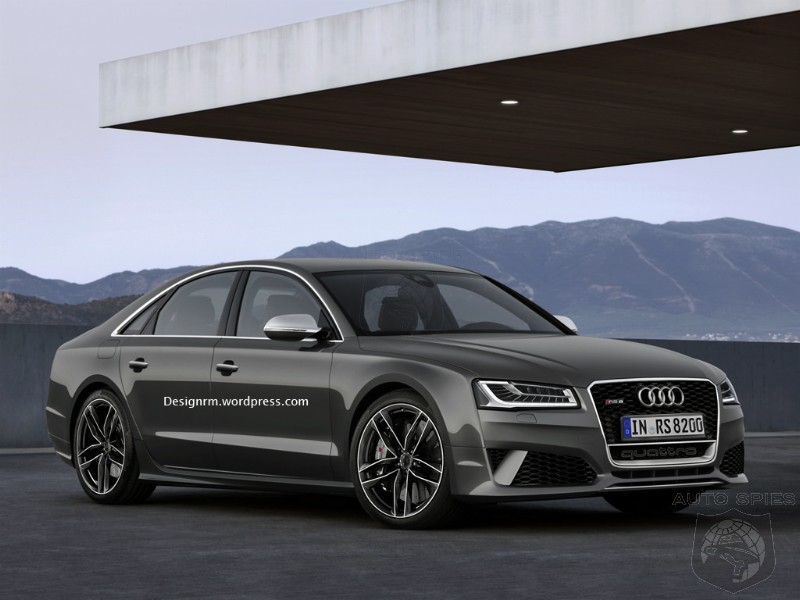 If Audi Is Planning On Global Domination, Why Do They Not Have A RS8 In The Works?