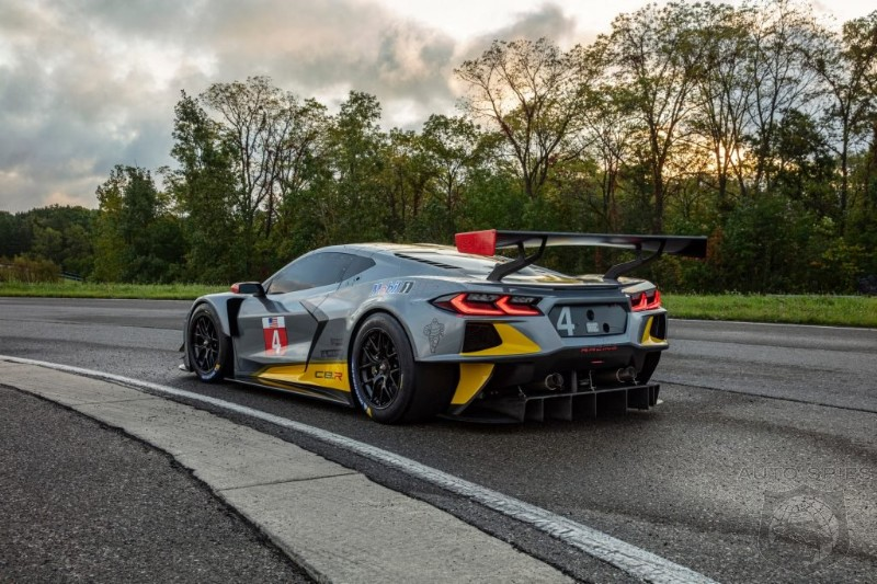2020 C8.R Corvette V8 To Feature Super Secret Flat-Plane Crank