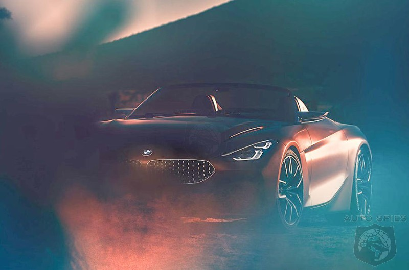 BMW Z4 Concept Shot Revealed Ahead Of Pebble Beach Debut