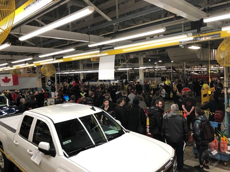 Canadian Autoworkers Stage Sitdown Strike Over GM Plant Closures