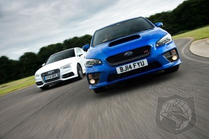 Over The Top, Or Under The Radar? - Audi S3 Comes Out On Top Of Subaru WRX Sti