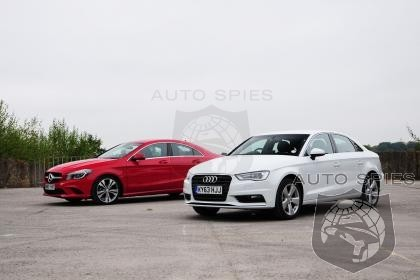 Yeah, We Told You This Was Going to Happen - Audi's A3 Continues To Reel In Mercedes CLA In Sub $30K Luxury Race