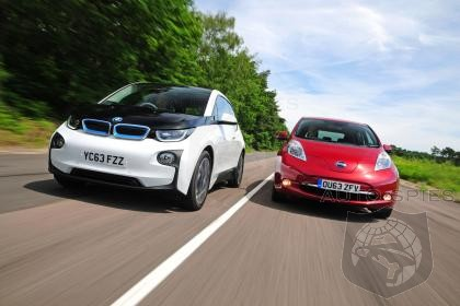 BMW i3 VS Nissan Leaf - Which Will The Tree Huggers Adore Most?