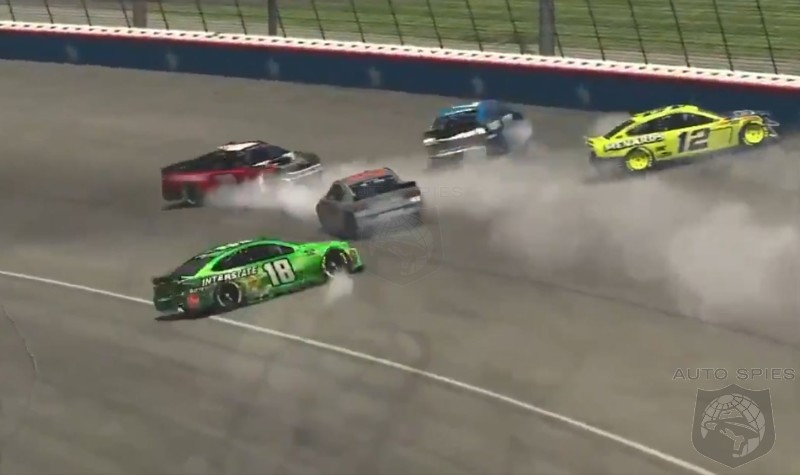 WATCH: Virtual Races Get Of To A Crazy Start With Drivers Penalized For Crashing