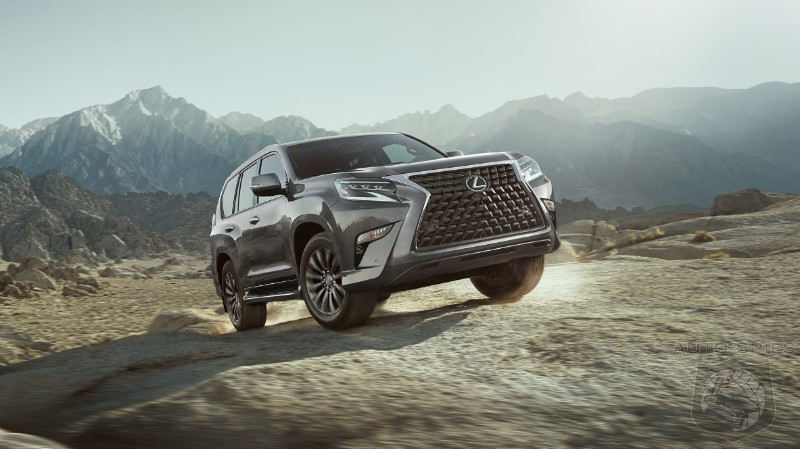 Are You As Tired Of The Massive Grill Trend As We Are? Lexus GX460 Face Gets Uglier For 2020