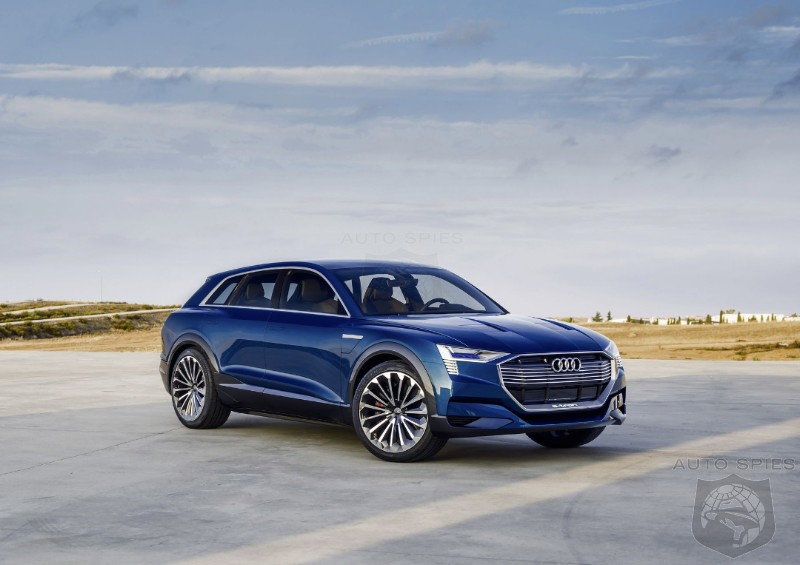 Pent Up Demand? Audi Says It Has Over 20,000 Reservations For The e-tron SUV