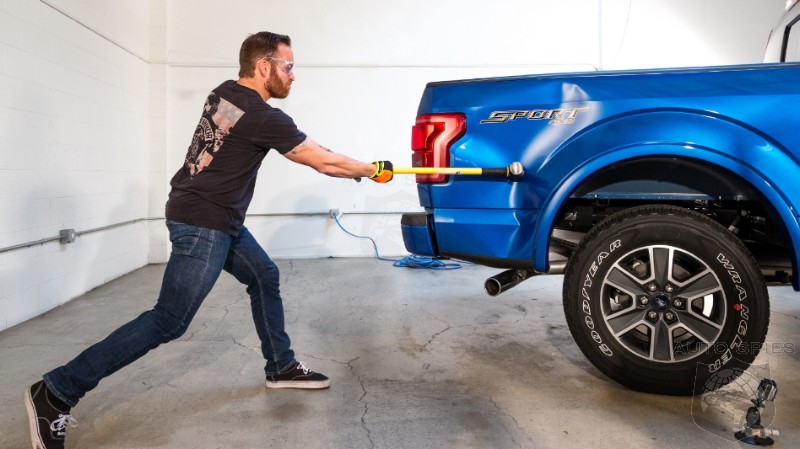Which Is Crazier Sledgehammering A New Aluminum Ford F 150 Or The Repair Bill