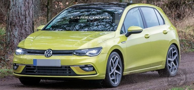 2020 VW Tiguan R, Changes, Coupe >> Stud Or Dud 2020 Golf Mk8 Caught Uncovered From All Angles