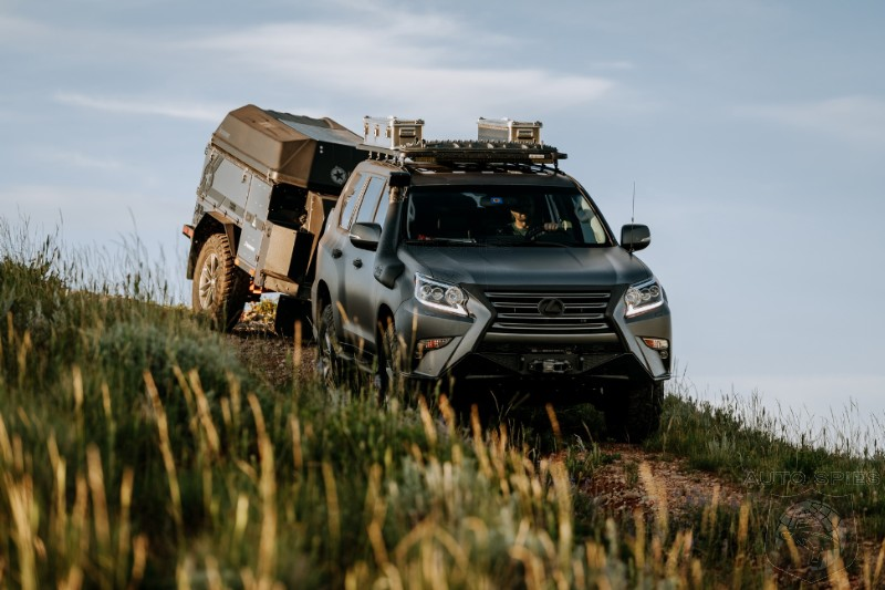 Production Ready? Lexus Gets Serious With Hardcore GXOR Off Road Concept