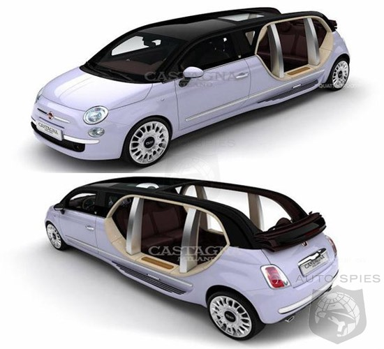 Italian Coachmaker Releases Trifecta Of Fiat 500 Based Limousines