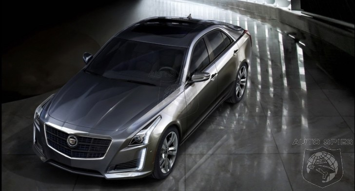 Cadillacu0027s 420 HP 2014 CTS V Sport To Slide In At Under $60,000