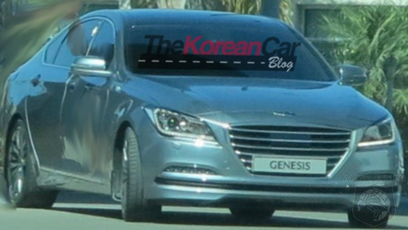 2015 Hyundai Genesis Sedan Caught In The Nude! Who Should Worry More, The Germans Or Japanese?