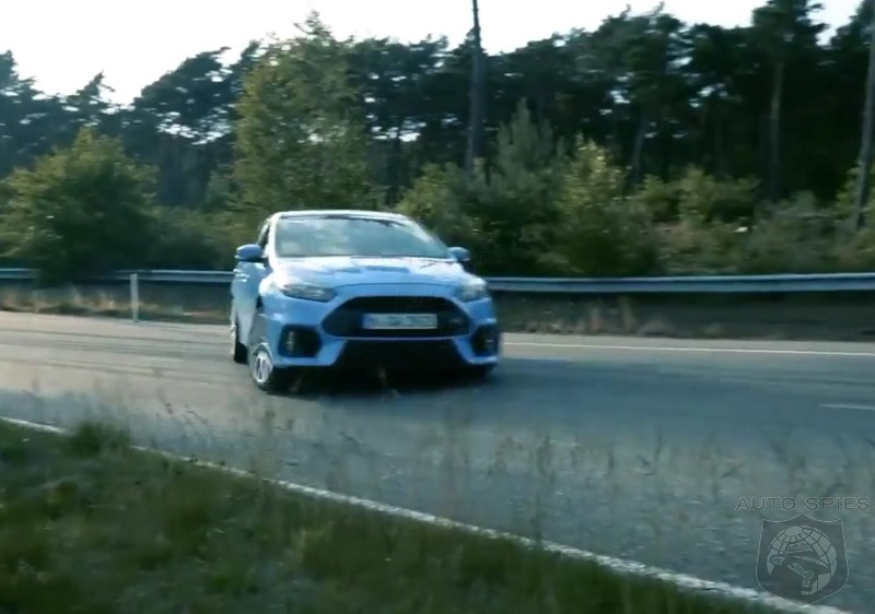 VIDEO:  320 HP AWD Focus RS Shows It Will Oversteer With The Best Germany Can Offer