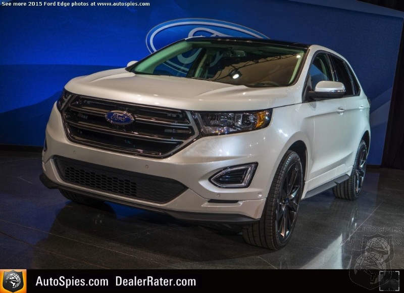 Ford Says Skipping Over Japanese And Targeting Germans With New Edge Is Key In Europe