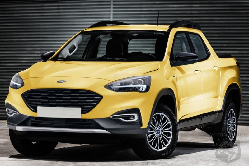 Ford Green Lights Compact Pickup For The US Market