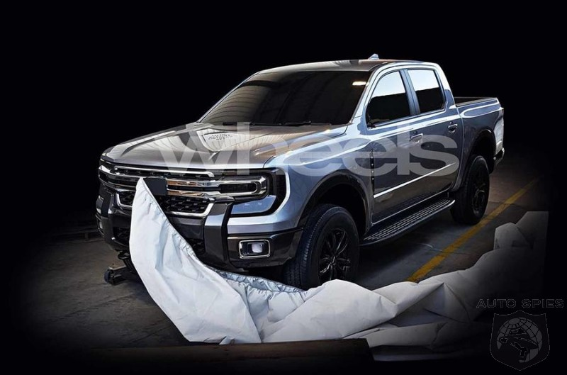 Leaked Images Of 2021 Ranger Shows Heavy Super Duty Influence