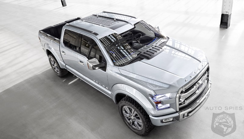 DETROIT AUTO SHOW: Ford Answers New GM Trucks With Atlas Concept
