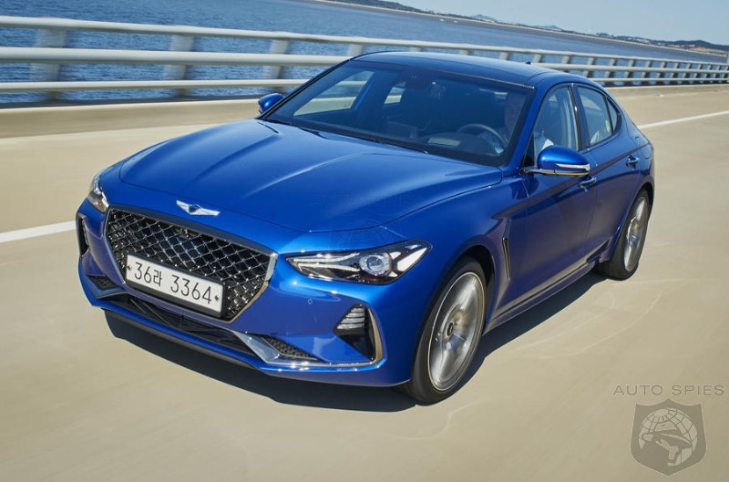 Genesis's G70 Will Debut BEFORE Most Dealerships Are Ready