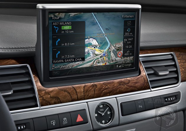 Audi 2011 A8 Will be The First Vehicle On the Road With Google Maps Navigation