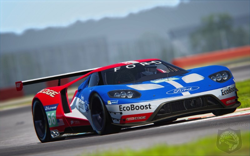 ford gt conquers le mans on 50th anniversary of gt40 win autospies. Black Bedroom Furniture Sets. Home Design Ideas