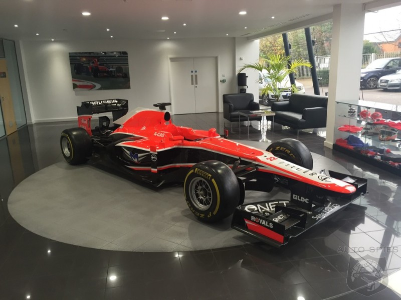 Haas F Aquires Defunct Marussia Formula One Headquarters And Race - F1 show car