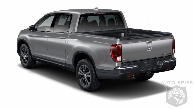 Honda Recalls 106,000 Ridgelines Because Car Washes Cause It To Catch Fire