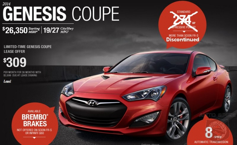 Hyundai Dropping 2.0 Turbo Engine On 2015 Genesis Coupe