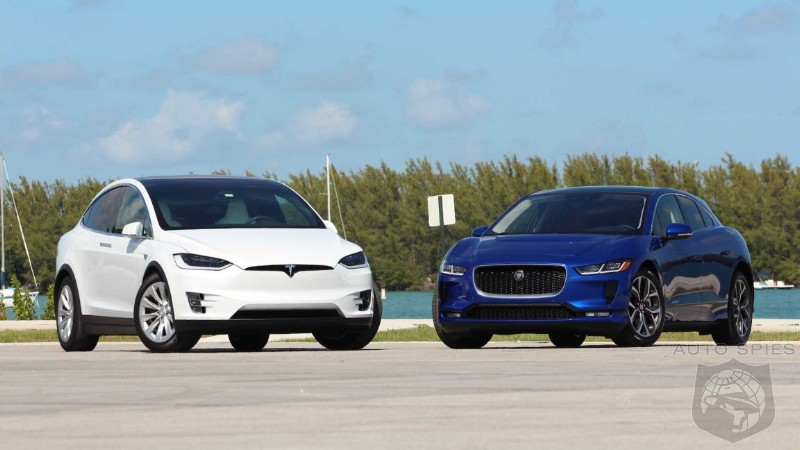 2019 Jaguar I-Pace Vs. 2018 Tesla Model X: Who Gets It Right In This EV Battle?