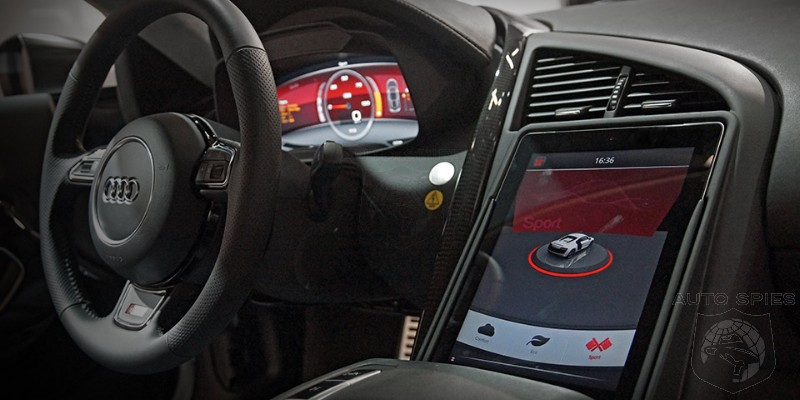 Audi F12 E Performance Prototype Centers Around iPad Interface And Technology