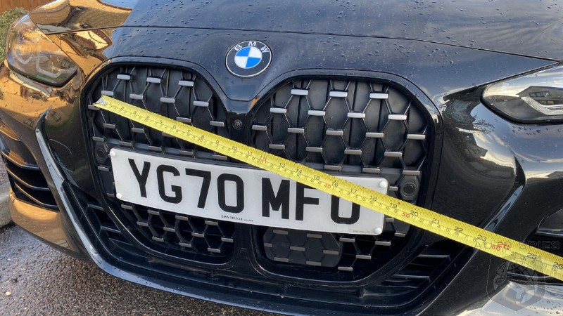 How Big Of A Grille Does That New BMW 4 Series Actually Need?