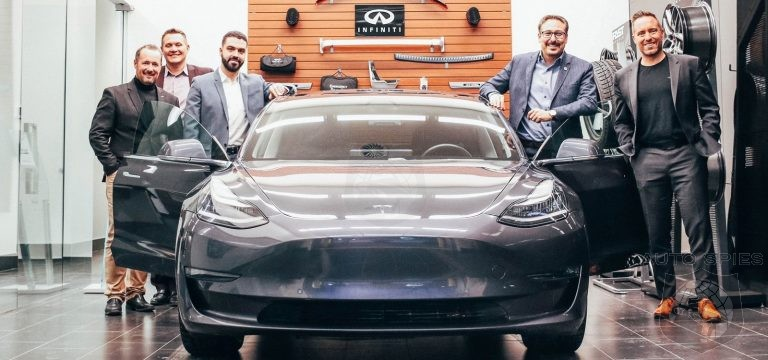 Infiniti Dealership Sells Loyal Customer A Tesla Until Brand Has An EV Of It s Own