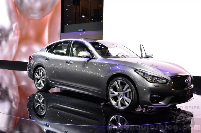 Q70 Flagship Becomes The Latest Victim As Infiniti's Line Up Wastes Away
