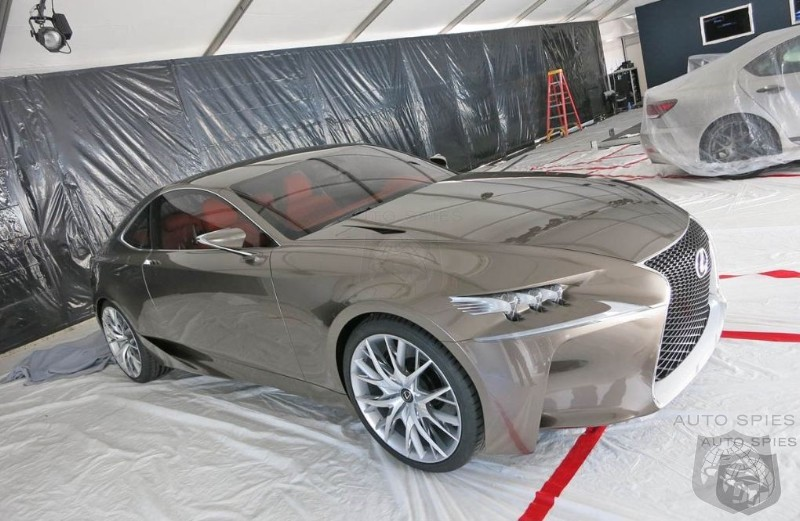Lexus To Base Performance Coupe Off Of LF-CC Show Car