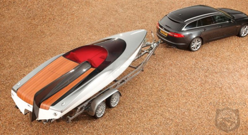 Cruising In Style: Jaguar Designs Speedboat Concept