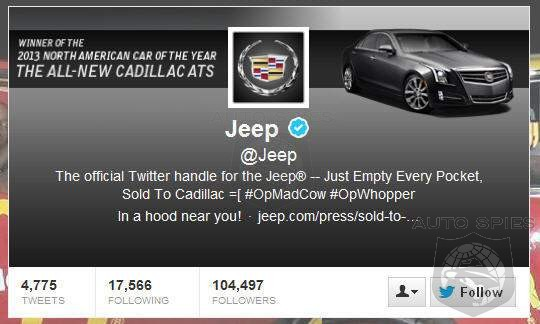 Hackers Take Over Jeep's Twitter Account