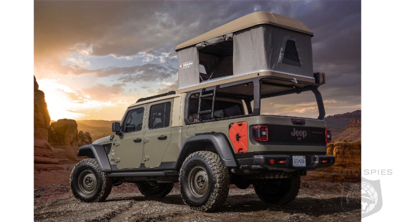 gladiator front and center as 2019 jeep moab easter safari concepts debut
