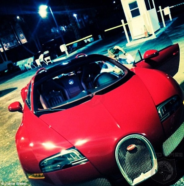 Justin Beiber Adds A Bugatti Veyron Grand Sport To The Stable Because We All Know 3 Ferraris Are Not Enough