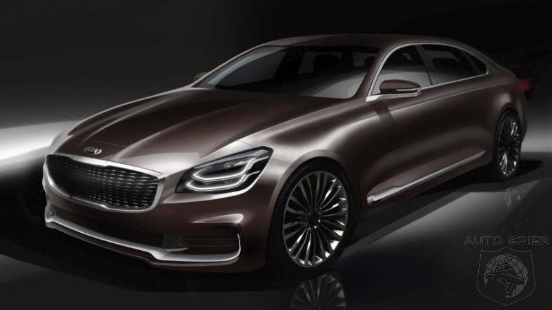 Kia To Place Germans On Notice At NYIAS With Next Gen K900
