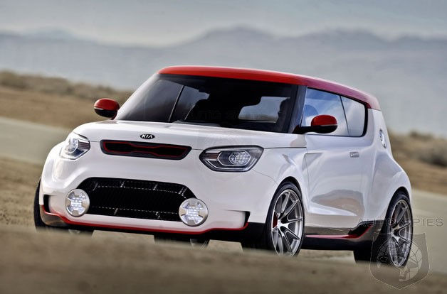 CHICAGO AUTO SHOW: Is Kia's Trackster Concept Everything The Mini Cooper JCW Should Be But Isn't