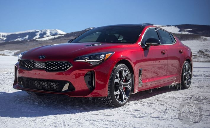Just How Well Does The 2018 Kia AWD Stinger Perform On Ice?