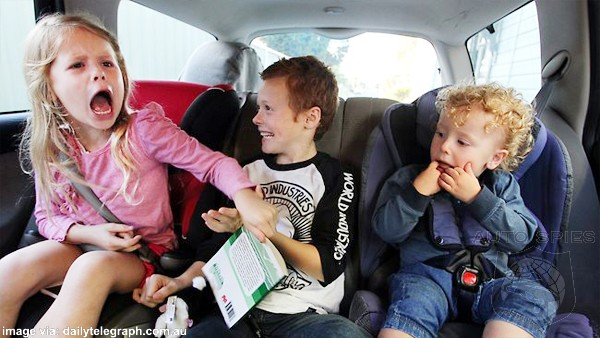 Most Vehicles To Be Equipped With Rear Seat Monitors To Remind Forgetful Parents Kids Are Back There