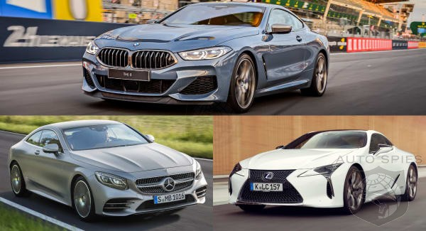 BMW 8 Series vs Mercedes S Class vs Lexus LC Who Gets Your 100K