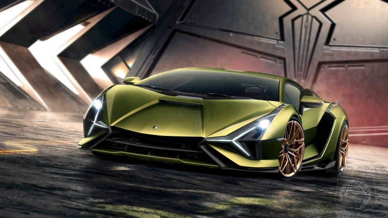 Lamborghini Reveals The Stunning 819HP Hybrid V12 Sián