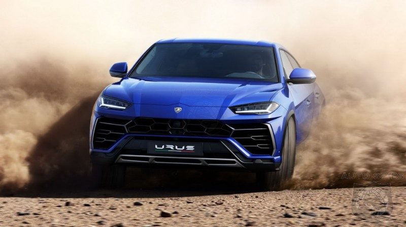 Lamborghini Offically Unveils The 641HP Urus SUV - Who Should Run, Duck And Cover?